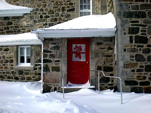 Parish-church-in-snow