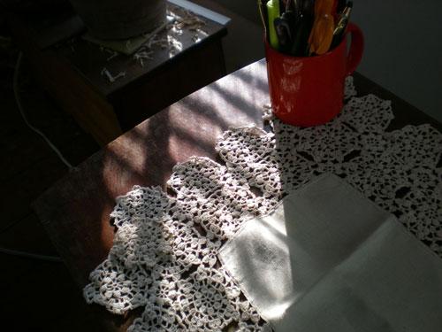 Crochet-and-light