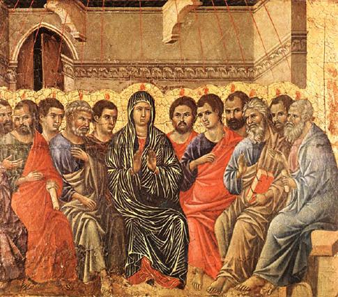 Pentecost duccio