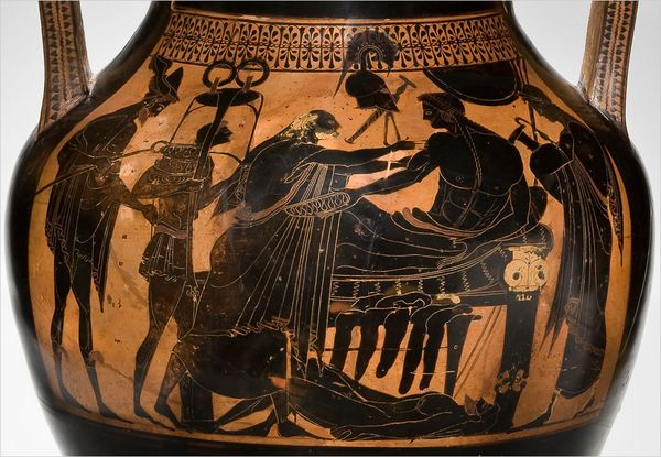 hubris in the iliad Hubris can be defined as excessive arrogance or confidence and it is displayed throughout the epic poem and in today's society odysseus displays many examples of fatal flaws throughout the odyssey, however, his most prominent is his hubris.