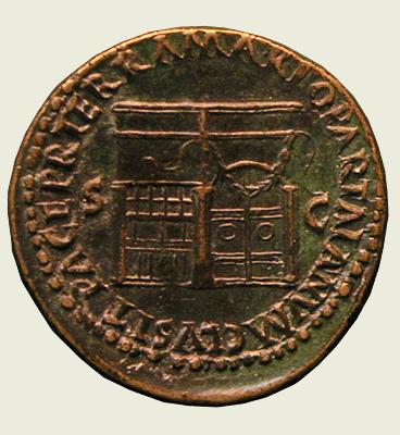 Janus coin back