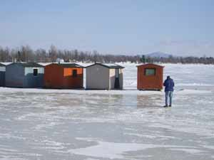 Champlain-shacks