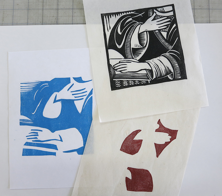 There Are Several Methods For Making Multiple Color Relief Prints And In Every Case The Tricky Part Is Registration Of Colors